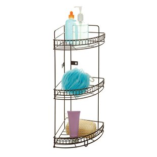 Compare prices Bath Bliss 7.87 W x 20.87 H Bathroom Shelf By Kennedy International