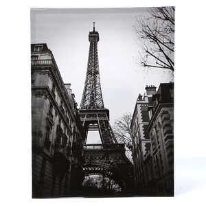 'Eiffel Tower Sun Glow' Photographic Print on Wrapped Canvas by Andover Mills
