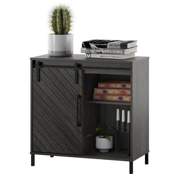 Ruth Sliding 1 Door Accent Cabinet by Gracie Oaks