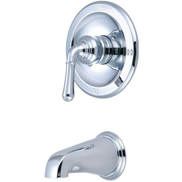 Single Handle Tub Trim with Lever Handles by Olympia Faucets