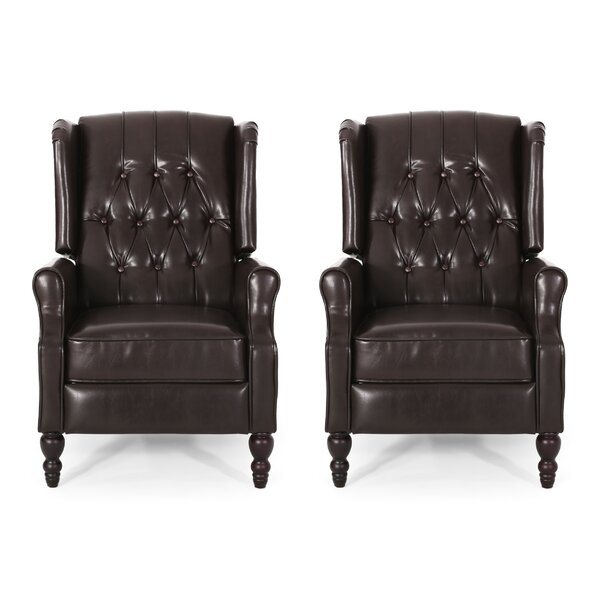 Nicklaus Manual Recliner (Set Of 2) By Darby Home Co
