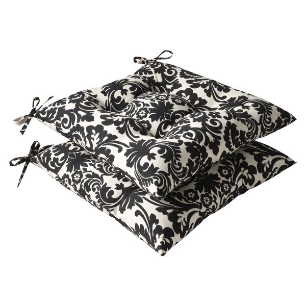 Indoor/Outdoor Dining Chair Cushion (Set of 2) by Pillow Perfect