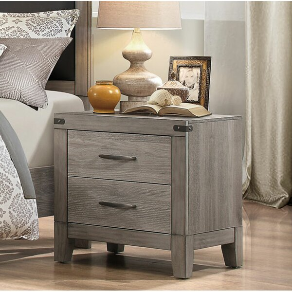 Camire 2 Drawer Nightstand by Union Rustic