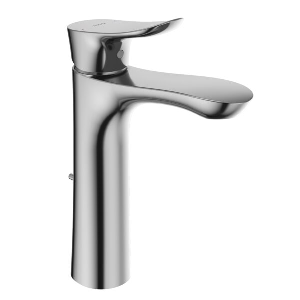 Single Hole Bathroom Faucet With Drain Assembly And Comfort Glide Technology By Toto