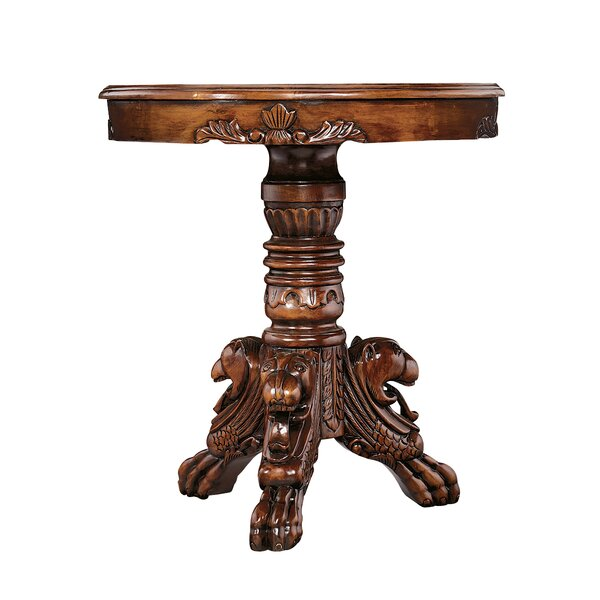 Heraldic Lion End Table by Design Toscano