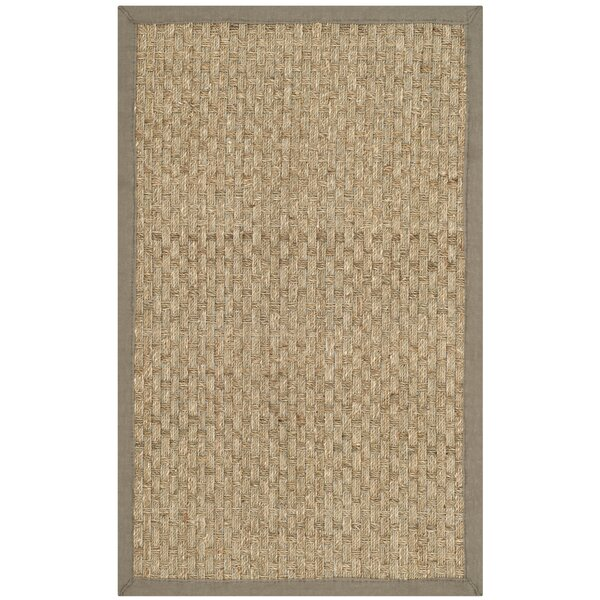 Richmond Natural/Brown Area Rug by Beachcrest Home