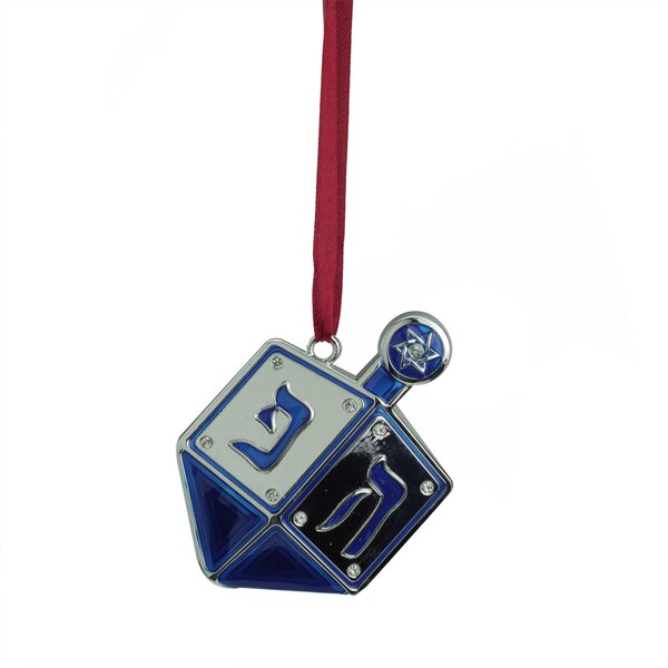 Regal Dreidel Hanukkah Holiday Ornament with European Crystals by Northlight Seasonal