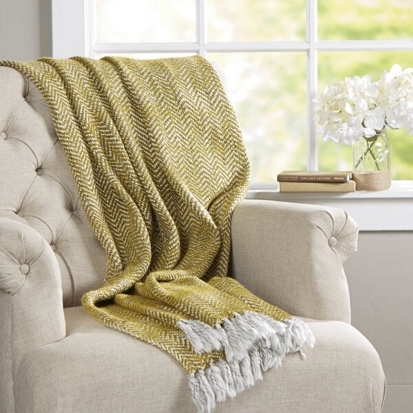 Massey Throw Blanket by Langley Street