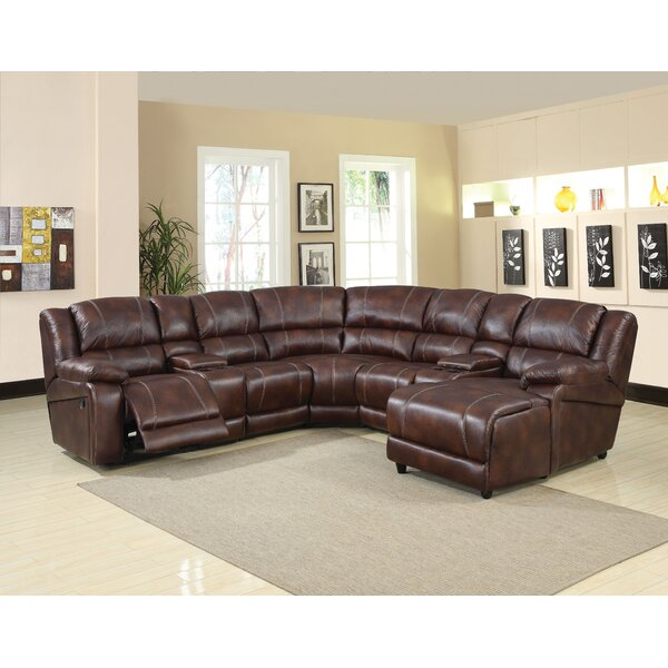 Majeski Motion Home Theater Sectional by Red Barrel Studio