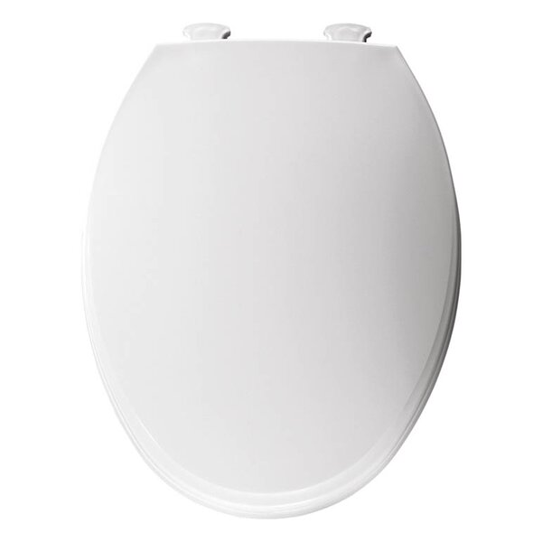 Church Lift Off Plastic Elongated Toilet Seat by Trumbull