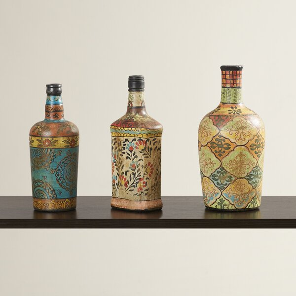 Som 3 Piece Vase Set by World Menagerie