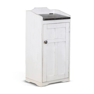 White Outdoor Trash Recycling