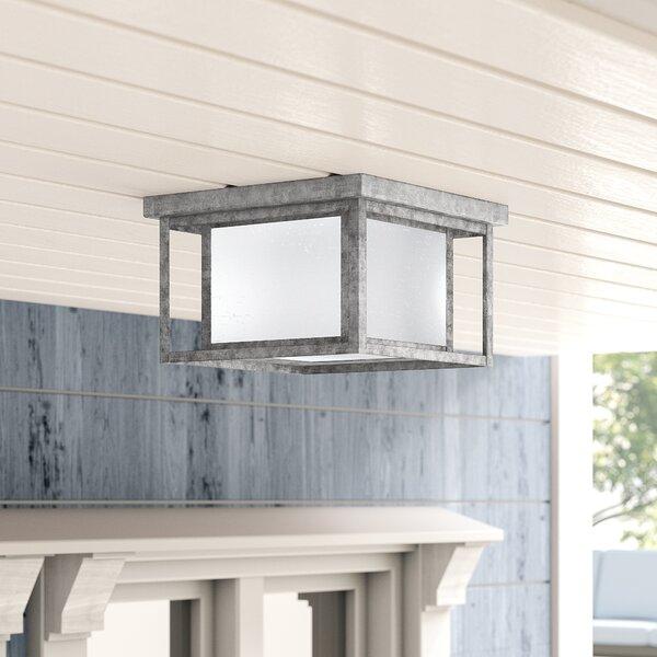 Breno LED Outdoor Flush Mount by Birch Lane™ Heritage
