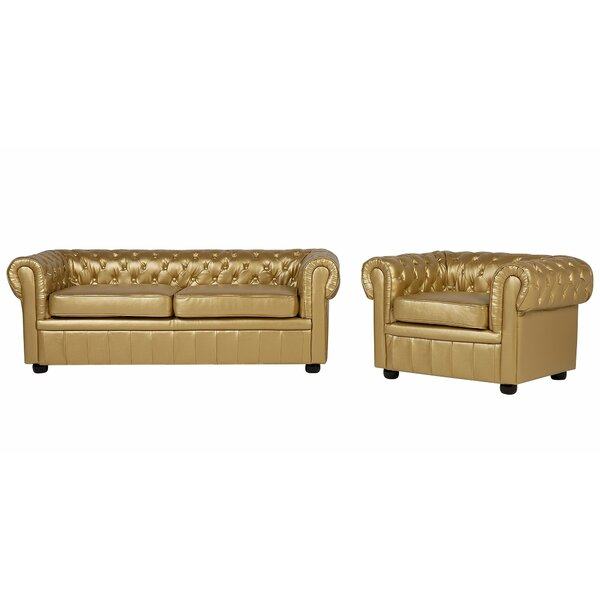 #2 Mejia 2 Piece Living Room Set By Rosdorf Park Herry Up