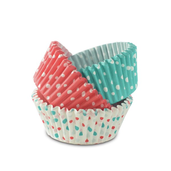 Paper Baking Cups Set Of 72 By Nordic Ware.