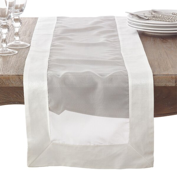Seabolt Wedding Event Décor Table Runner by Red Barrel Studio