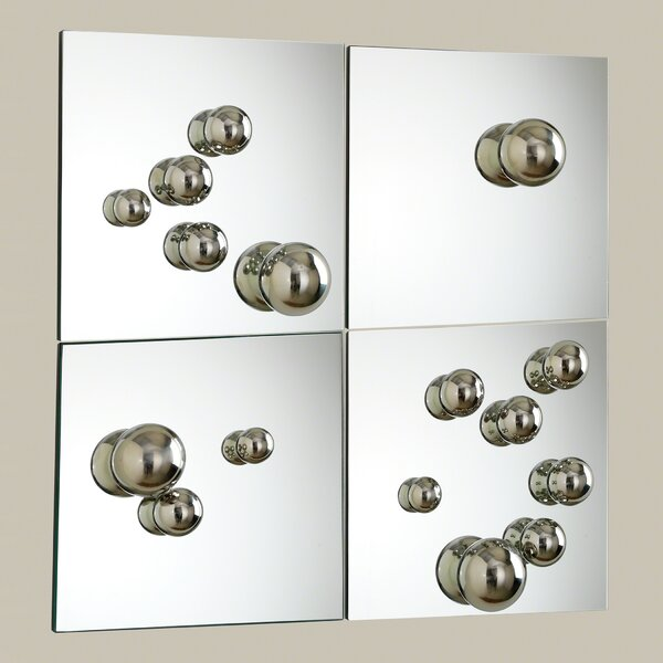 4 Piece Sphere Mirror Set by Global Views