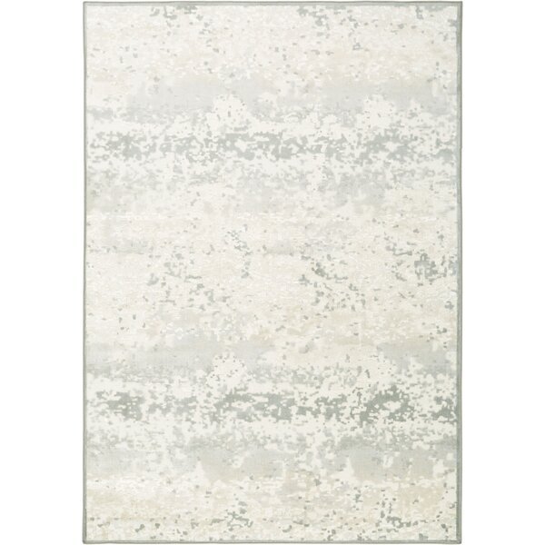 Infinity Ivory/Gray Area Rug by Nicole Miller
