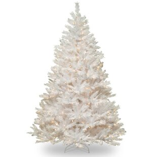 white 65 fir artificial christmas tree