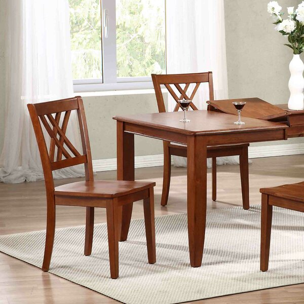Solid Wood Dining Chair (Set of 2) by Iconic Furniture