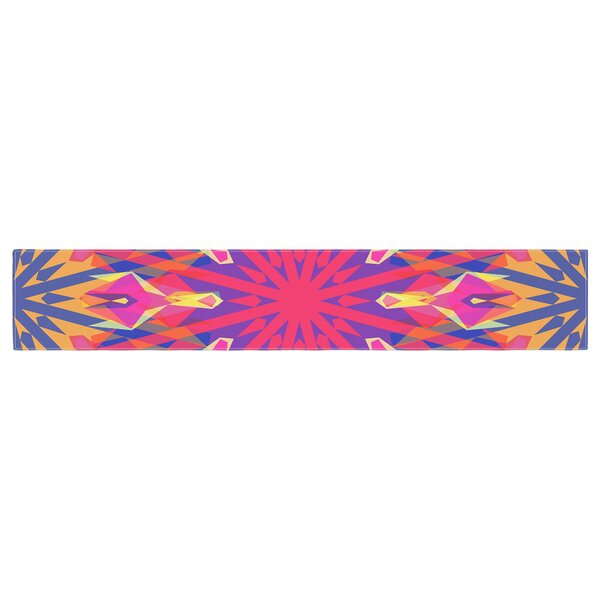 Miranda Mol Whirling Table Runner by East Urban Home