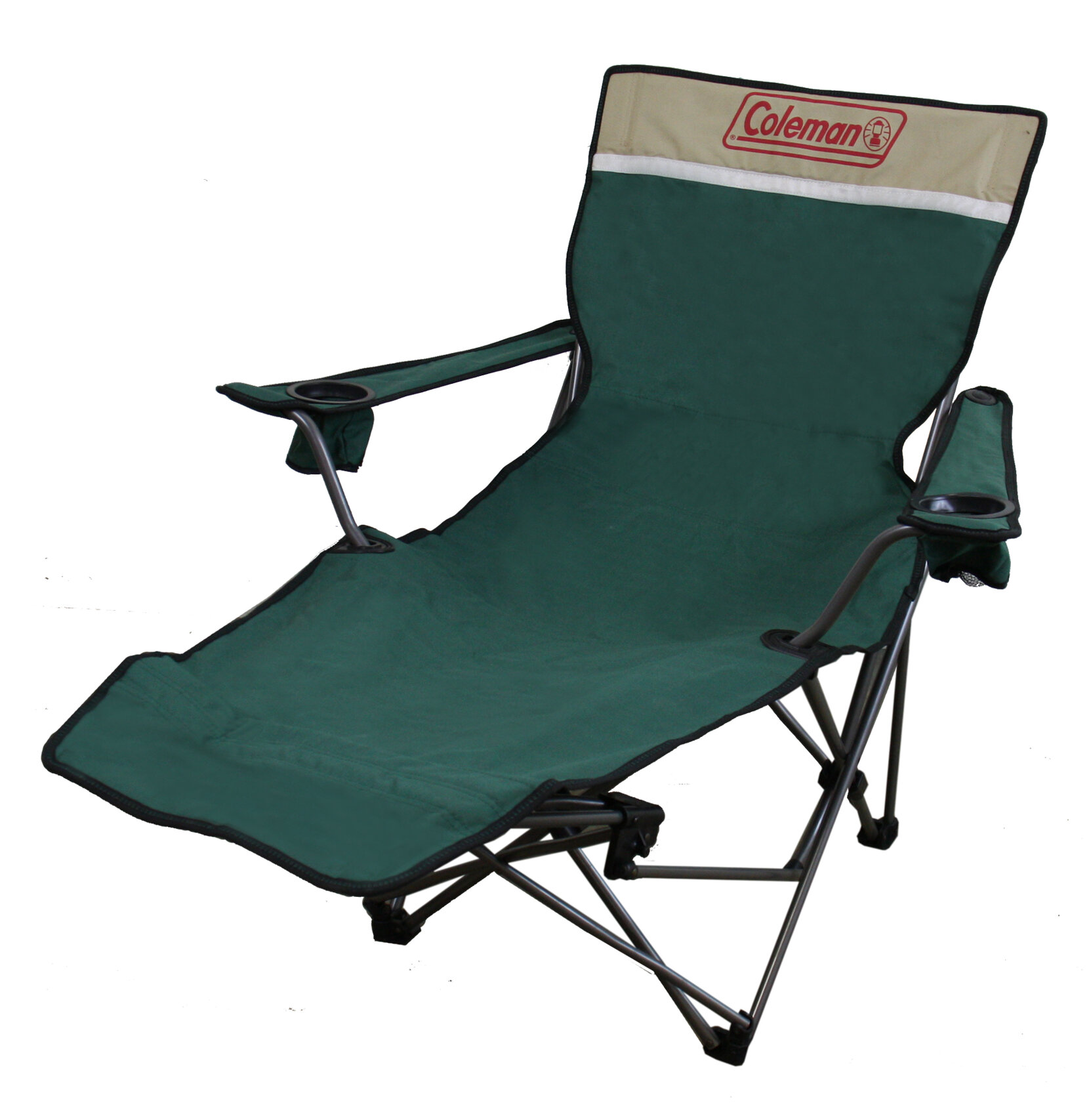 ORE Furniture Portable Lounge Reclining Camping Chair with Cushion