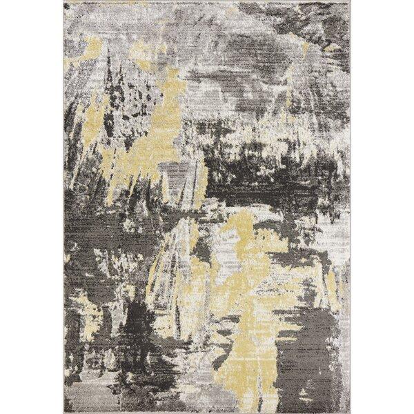 Tompkins Watercolor Gray Area Rug by Andover Mills