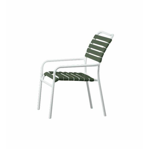 Kahana Stacking Patio Dining Chair by Tropitone Tropitone