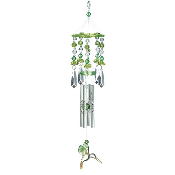 Zingz & Thingz Verdant Crystal Wind Chime & Reviews