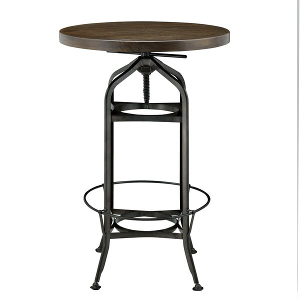 Petrie Adjustable Pub Table by Williston Forge