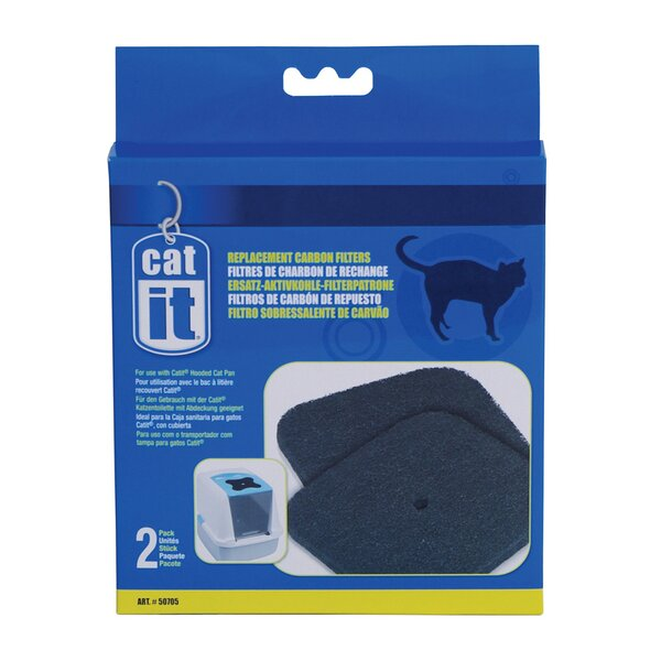 Catit Carbon Replacement Filter for 50700/50701 by Catit by Hagen