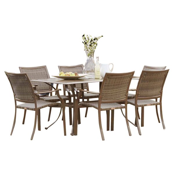 Island Cove 7 Piece Dining Set by Panama Jack Outdoor