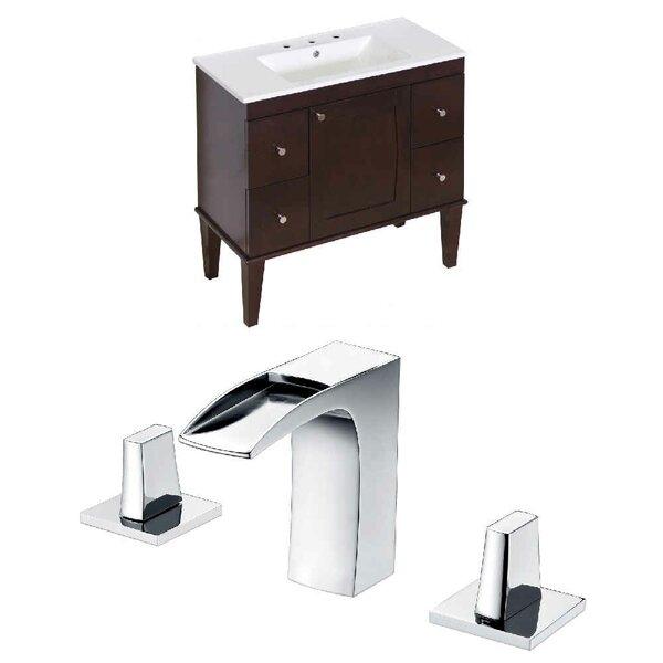 Hindman 74 Double Bathroom Vanity Set