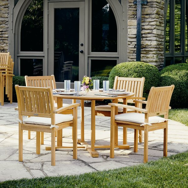 Costales 5 Piece Dining Set by Rosecliff Heights