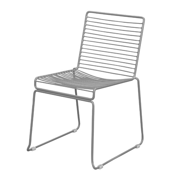 Gower Stacking Patio Dining Chair by Wrought Studio