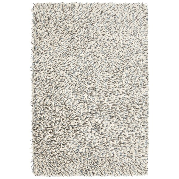 Sharene Hand-Woven Blue/Cream Area Rug by 17 Stories