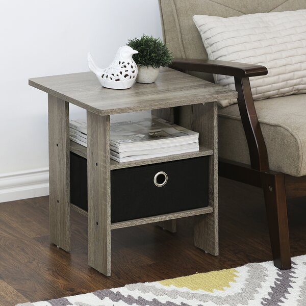 Joseph End Table with Storage (Set of 2) by Andover Mills