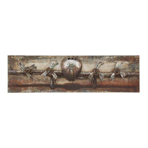 The Grand Painting Print Plaque in Brown by Trent Austin Design