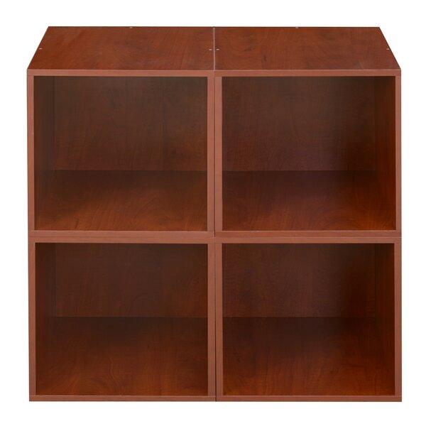 Castillo Cube Unit Bookcase (Set of 4) by Rebrilliant