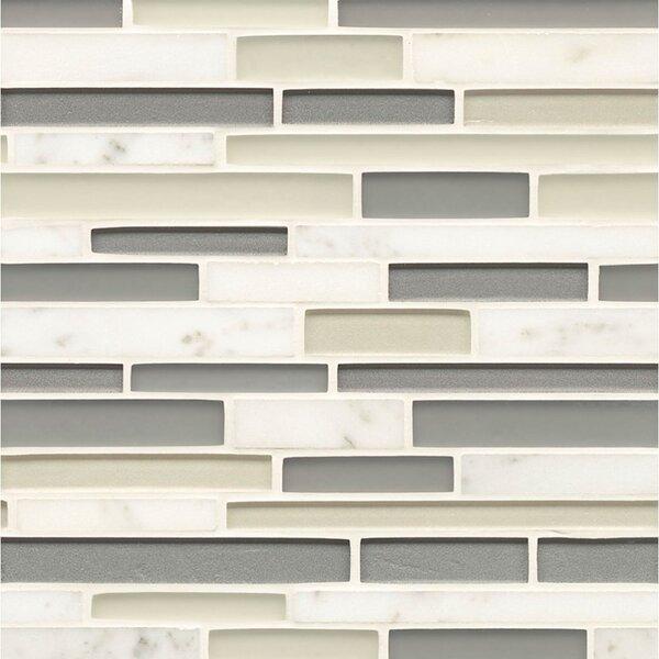 Remy Glass Random Sized Glass Mosaic Tile in Bainbridge by Grayson Martin