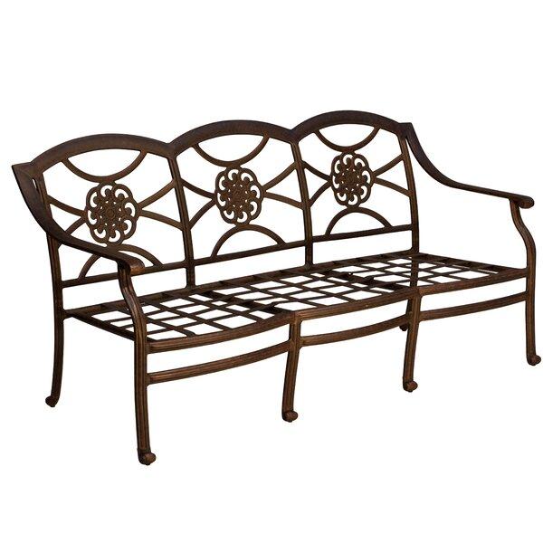 Ross Patio Sofa by Fleur De Lis Living