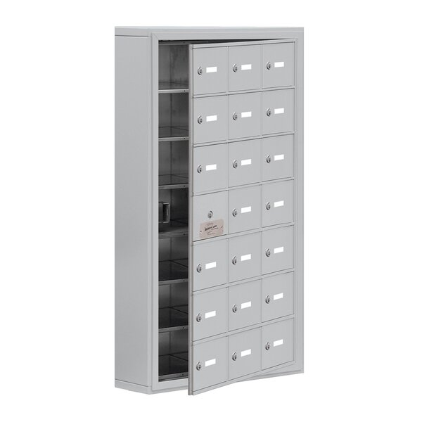 7 Tier 3 Wide EmpLoyee Locker by Salsbury Industries