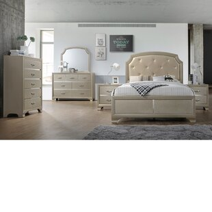 Mcpeters Panel 4 Piece Bedroom Set By House of Hampton