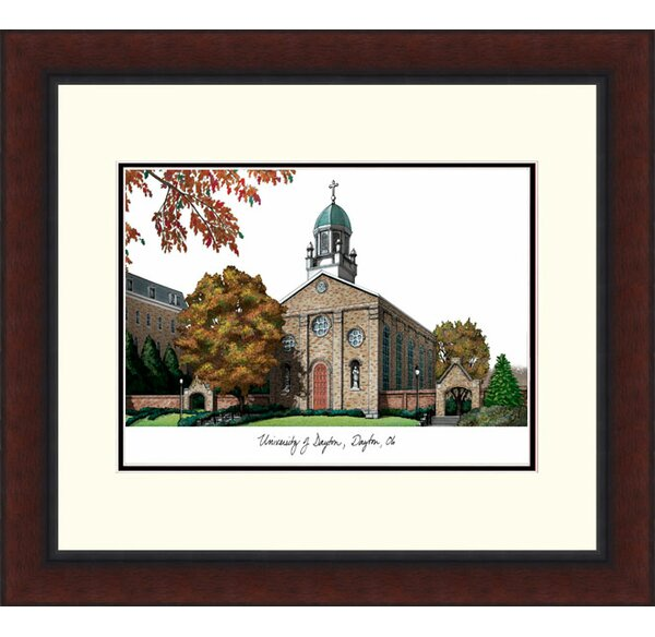 NCAA Alumnus Legacy Lithograph Picture Frame by Campus Images