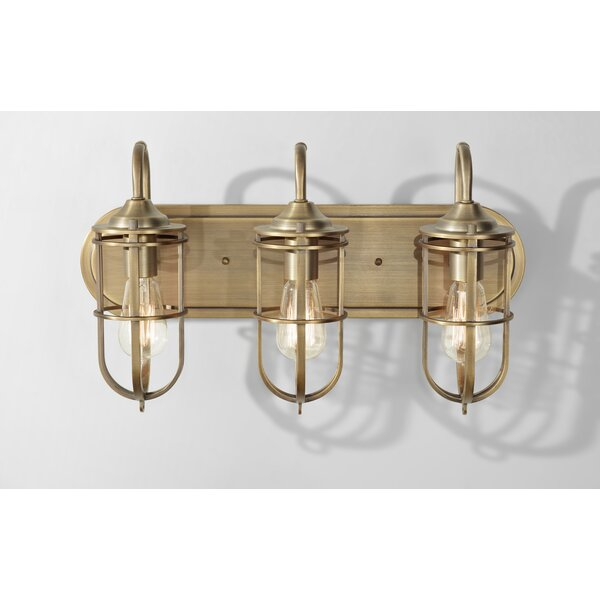 Abordale 3-Light Vanity Light by Williston Forge