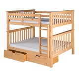 Lindy Mission Bunk Bed byHarriet Bee