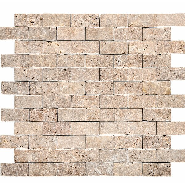 0.53 x 12 Travertine Stone Splitface Tile
