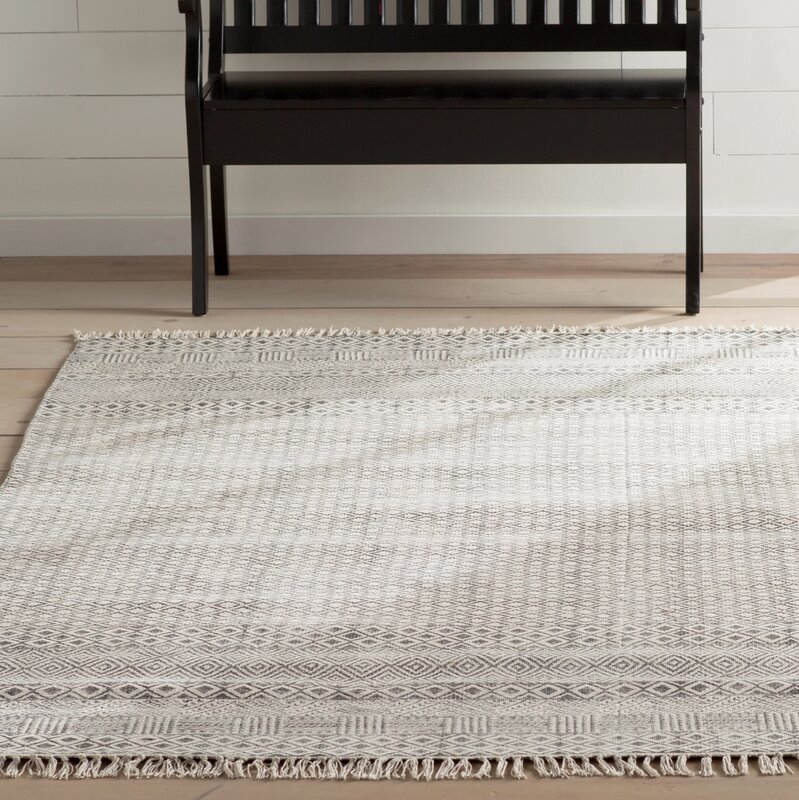 Oldtown Hand Woven Gray Area Rug Amp Reviews Allmodern