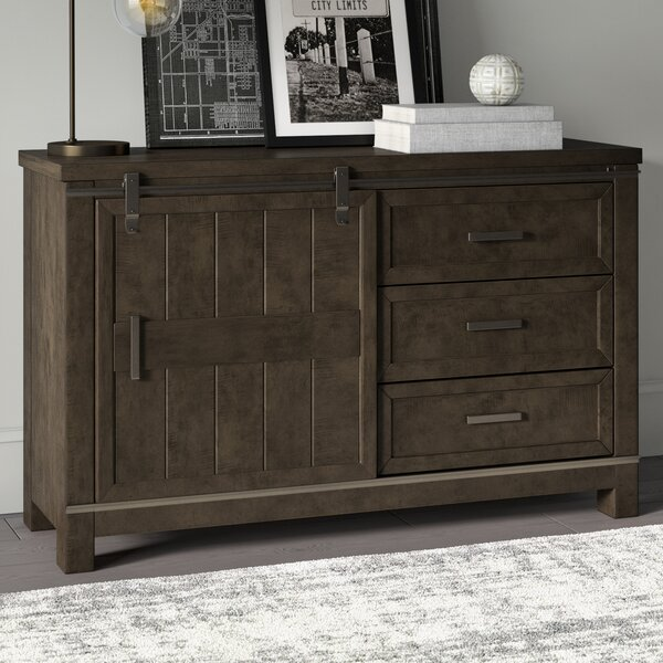 Sallie 3 Drawer Combo Dresser by Greyleigh