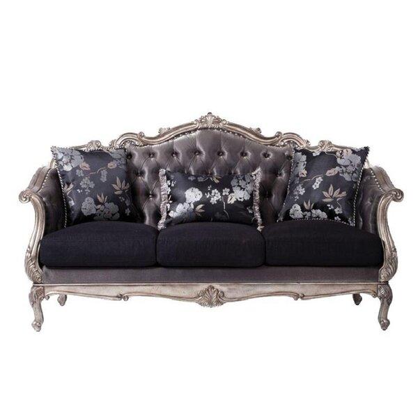 Sroka 84'' Flared Arm Sofa By Rosdorf Park